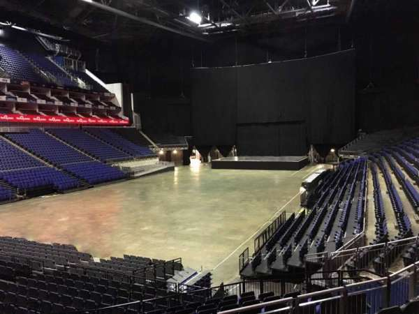The O2 Arena, section: 108, row: T, seat: 253
