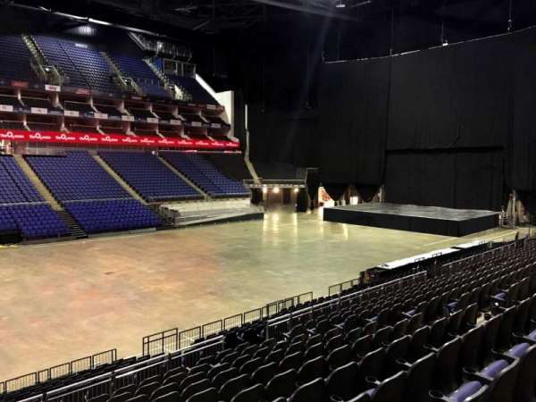 The O2 Arena, section: 110, row: T, seat: 308