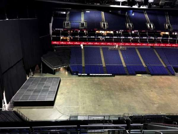 The O2 Arena, section: 402, row: L, seat: 480