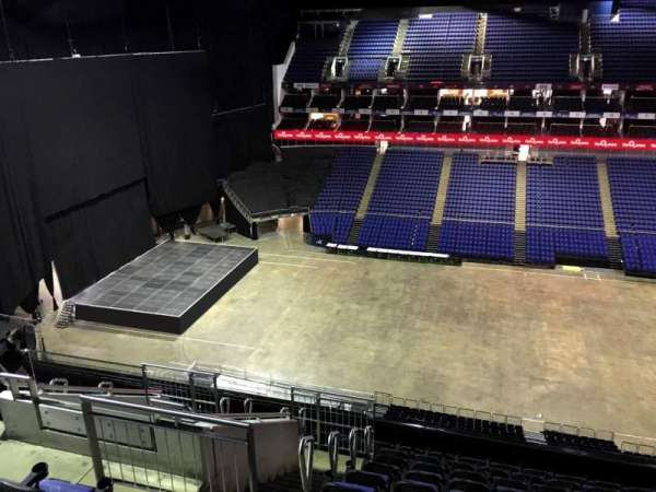 The O2 Arena, section: 403, row: L, seat: 515