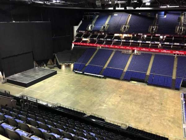 The O2 Arena, section: 405, row: L, seat: 556