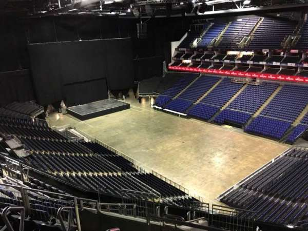 The O2 Arena, section: 407, row: L, seat: 615