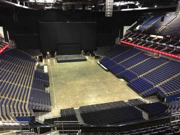 The O2 Arena, section: 410, row: L, seat: 688