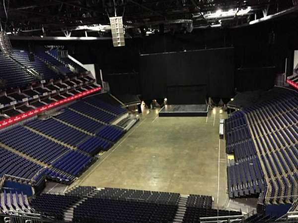 The O2 Arena, section: 413, row: L, seat: 748