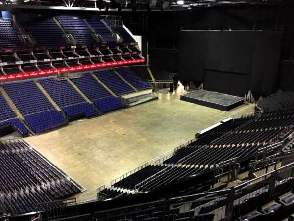 The O2 Arena, section: 416, row: L, seat: 833