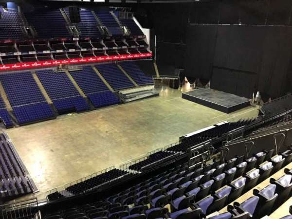 The O2 Arena, section: 417, row: L, seat: 858