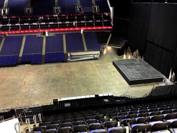 The O2 Arena, section: 420, row: L, seat: 938