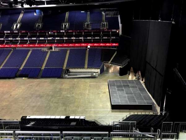 The O2 Arena, section: 422, row: L, seat: 968