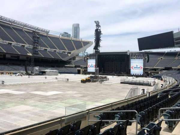 Soldier Field, section: 115, row: 6, seat: 10