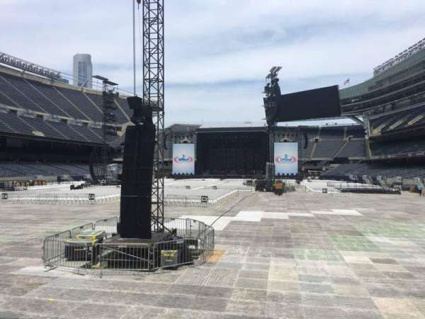 Soldier Field, section: 121, row: 5, seat: 15