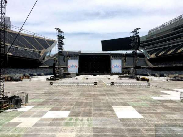 Soldier Field, section: 123, row: 5, seat: 18