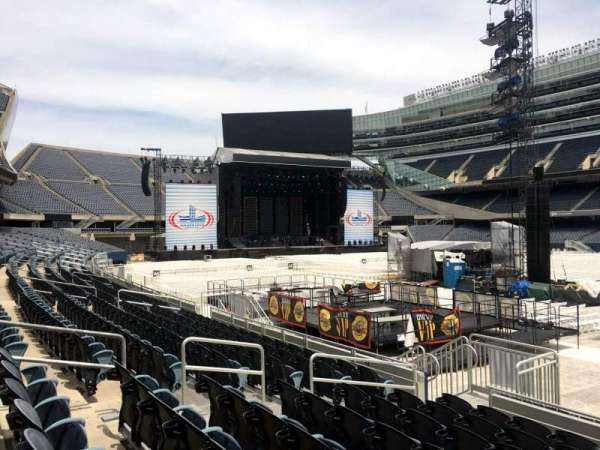 Soldier Field, section: 132, row: 8, seat: 8