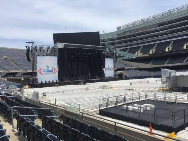 Soldier Field, section: 134, row: 5, seat: 13