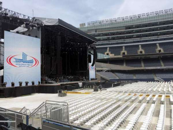 Soldier Field, section: 141, row: 5, seat: 10