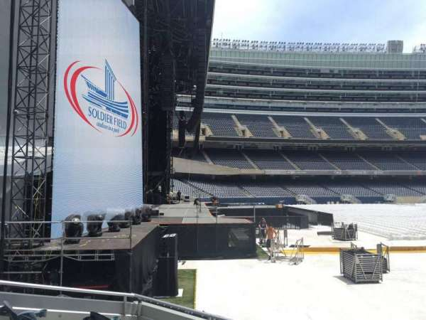Soldier Field, section: 146, row: 5, seat: 20