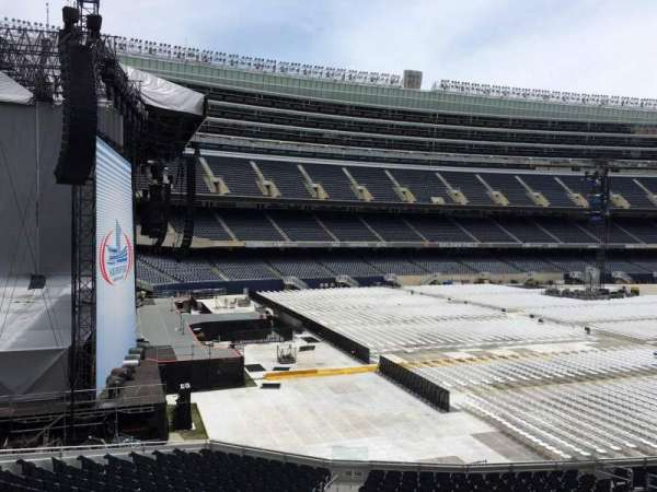 Soldier Field, section: 244, row: 3, seat: 16