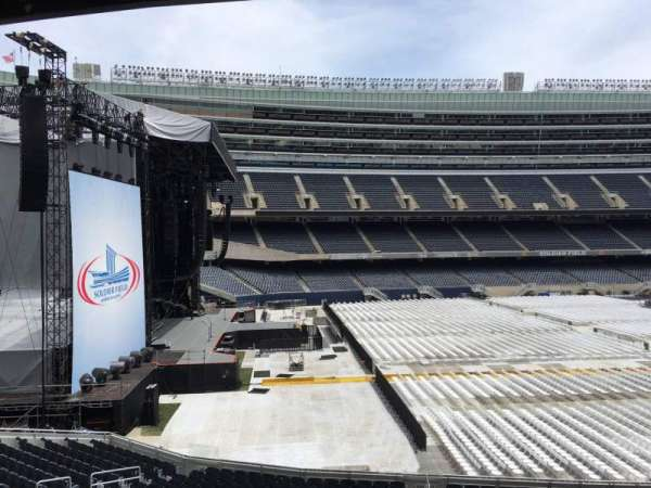 Soldier Field, section: 243, row: 3, seat: 11