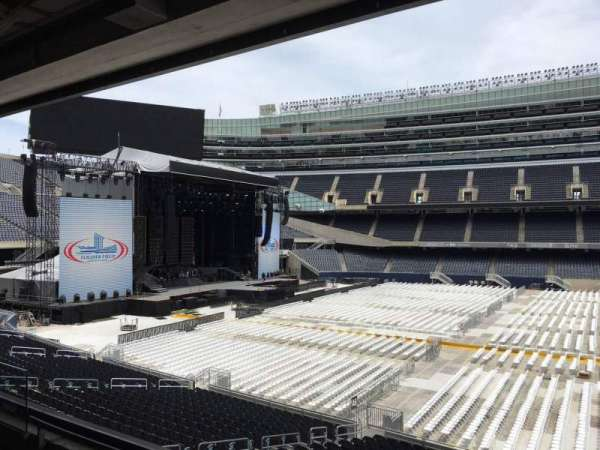 Soldier Field, section: 239, row: 3, seat: 8