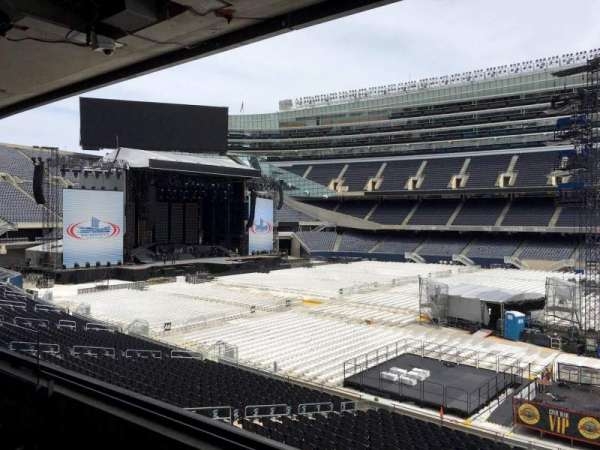 Soldier Field, section: 235, row: 3, seat: 9