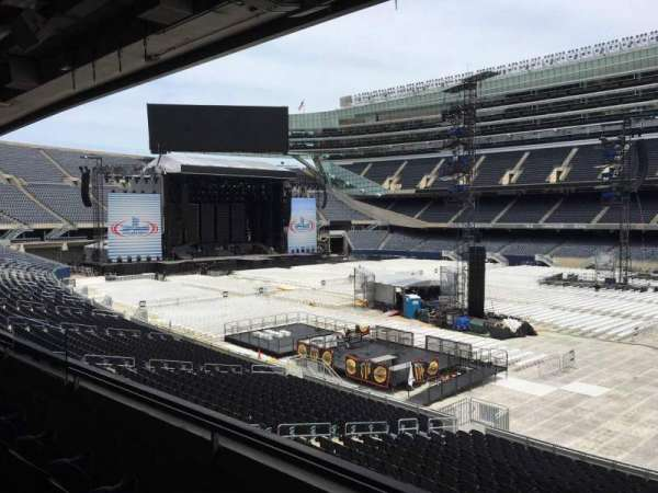 Soldier Field, section: 233, row: 3, seat: 10