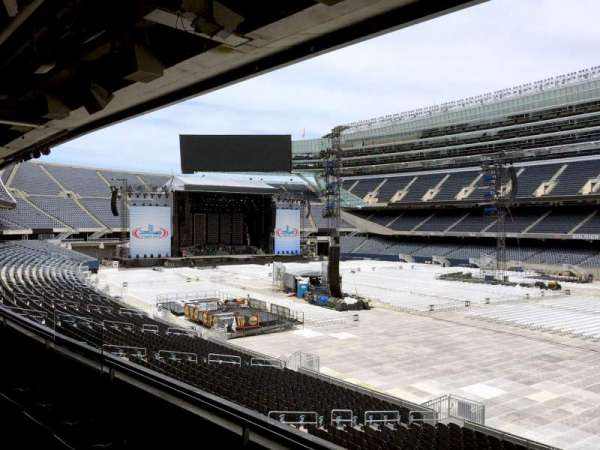Soldier Field, section: 231, row: 3, seat: 10