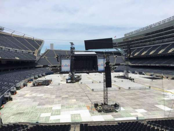 Soldier Field, section: 225, row: 4, seat: 7