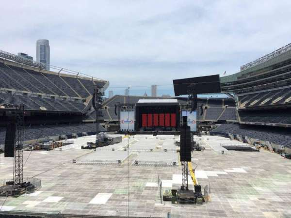 Soldier Field, section: 221, row: 5, seat: 5
