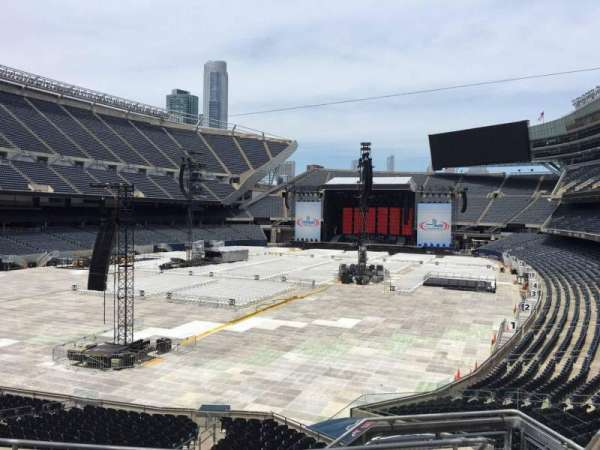 Soldier Field, section: 219, row: 5, seat: 12
