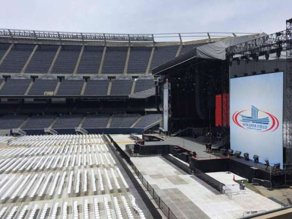Soldier Field, section: 205, row: 4, seat: 9