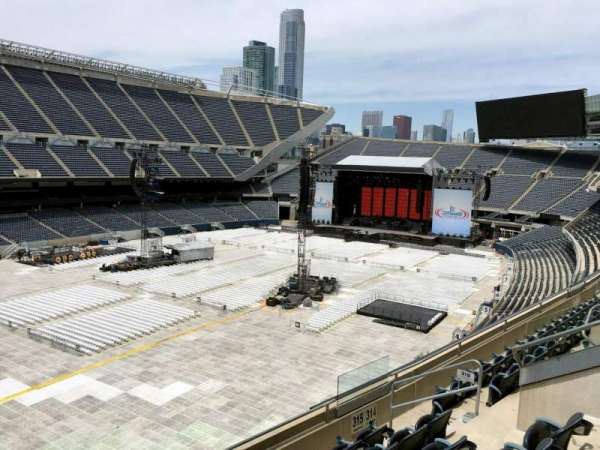 Soldier Field, section: 315, row: 7, seat: 7