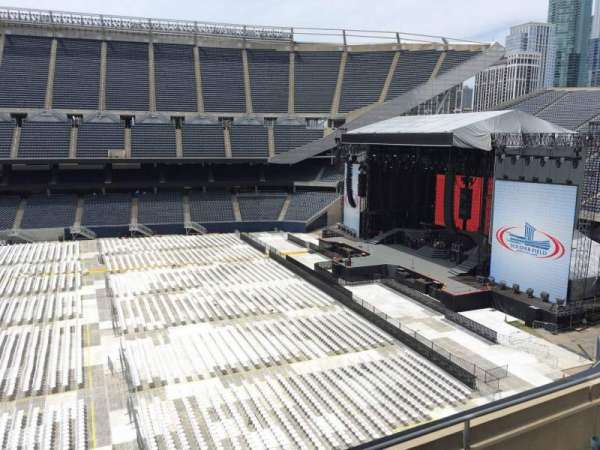 Soldier Field, section: 307, row: 4, seat: 7