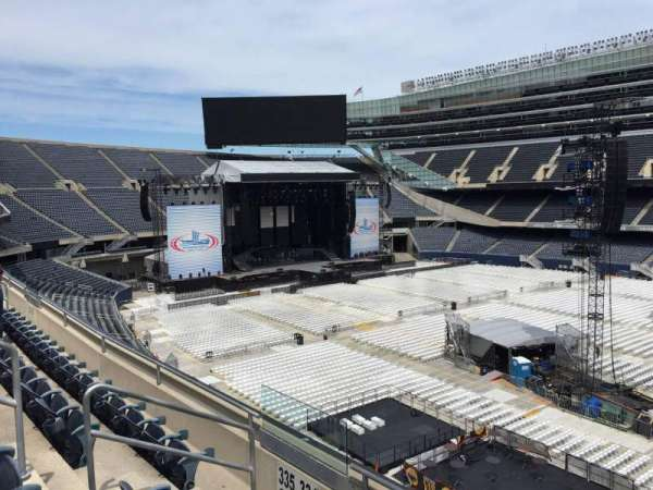 Soldier Field, section: 334, row: 4, seat: 7