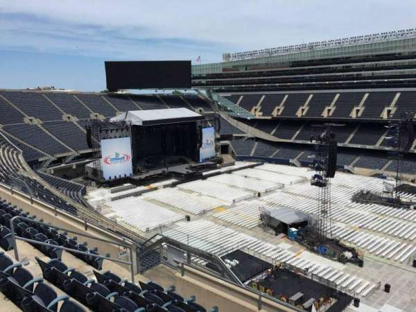 Soldier Field, section: 434, row: 6, seat: 11