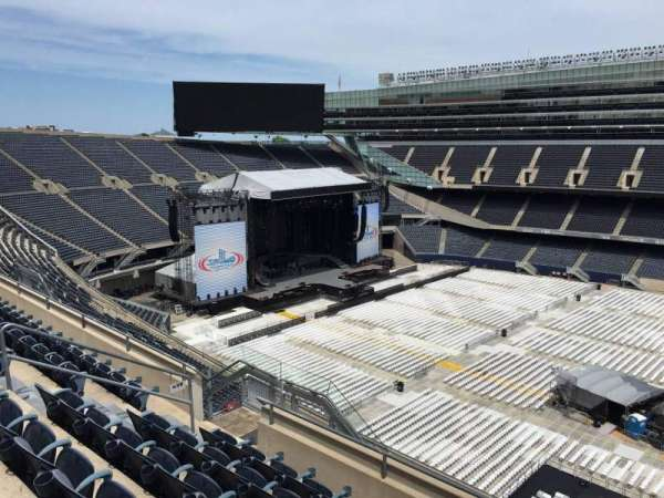 Soldier Field, section: 436, row: 6, seat: 12