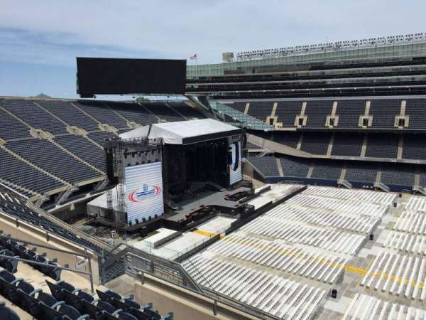 Soldier Field, section: 438, row: 6, seat: 12