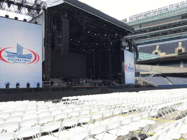 Soldier Field, section: A6, row: 13, seat: 12