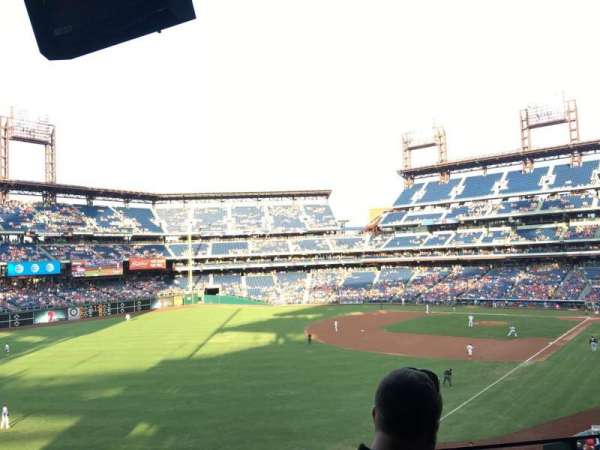 Citizens Bank Park, section: Suite 1, row: 2, seat: 1