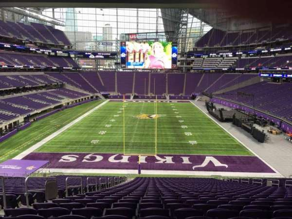 U.S. Bank Stadium, section: 119, row: 42, seat: 35