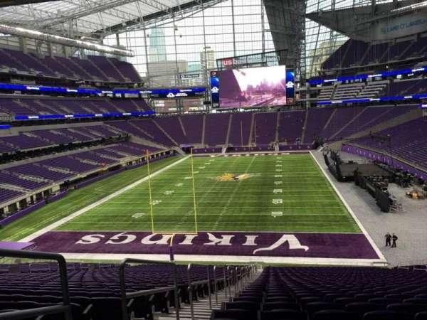 U.S. Bank Stadium, section: 118, row: 42, seat: 26