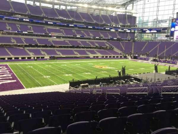 U.S. Bank Stadium, section: 113, row: 37, seat: 11