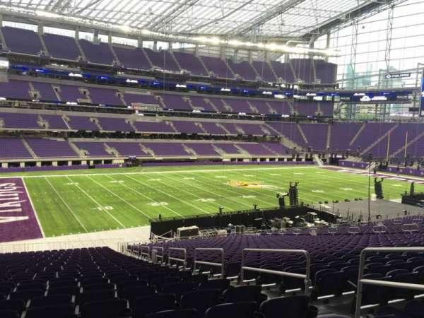 U.S. Bank Stadium, section: 113, row: 37, seat: 4