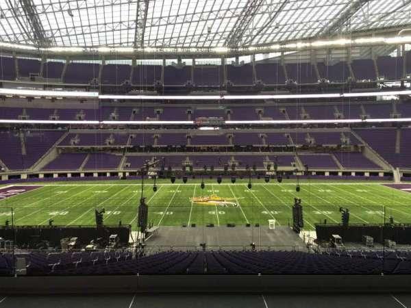 U.S. Bank Stadium, section: V3, row: Acc