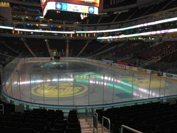 Rogers Place, section: 113, row: 13, seat: 1
