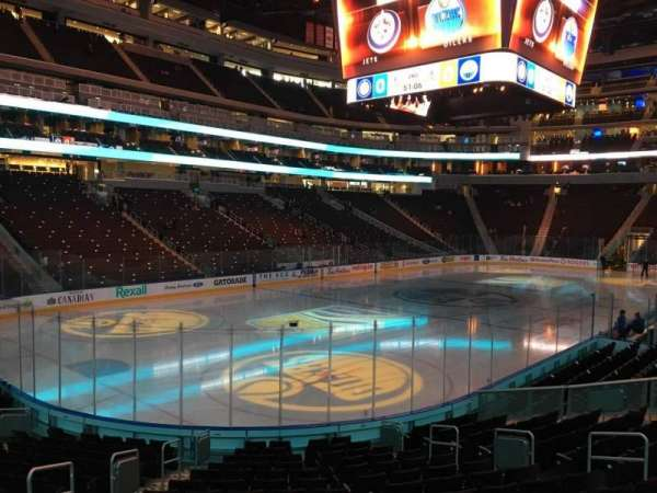 Rogers Place, section: 107, row: 15, seat: 12