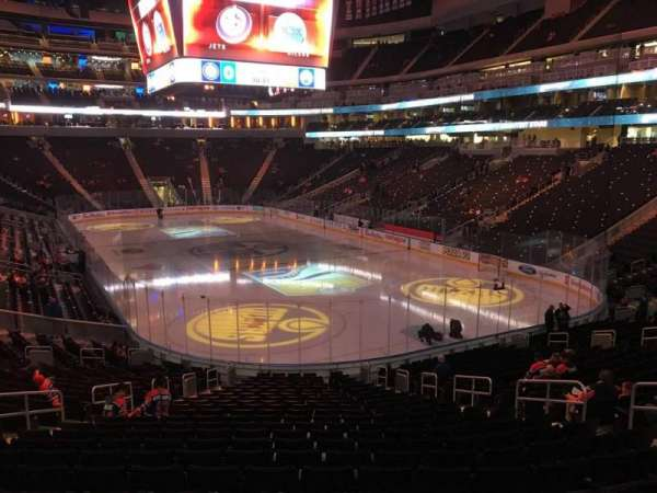 Rogers Place, section: 113, row: 23, seat: 10