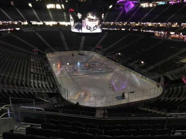 T-Mobile Arena, section: 119, row: H, seat: 10