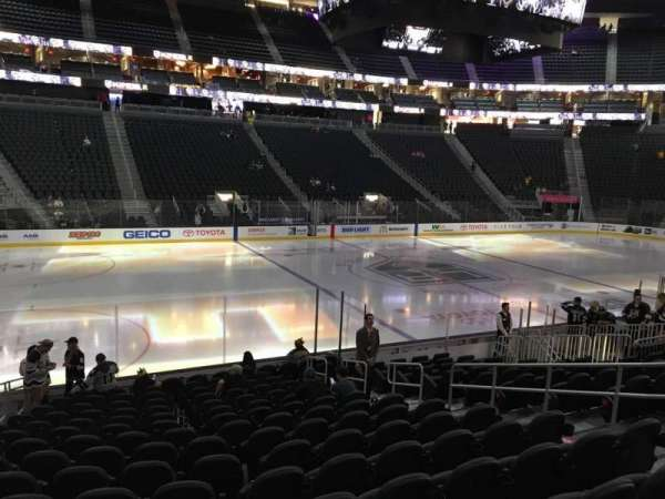 T-Mobile Arena, section: 4, row: M, seat: 8