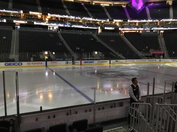 T-Mobile Arena, section: 5, row: D, seat: 2