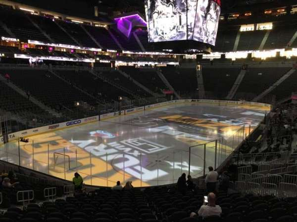 T-Mobile Arena, section: 2, row: T, seat: 10