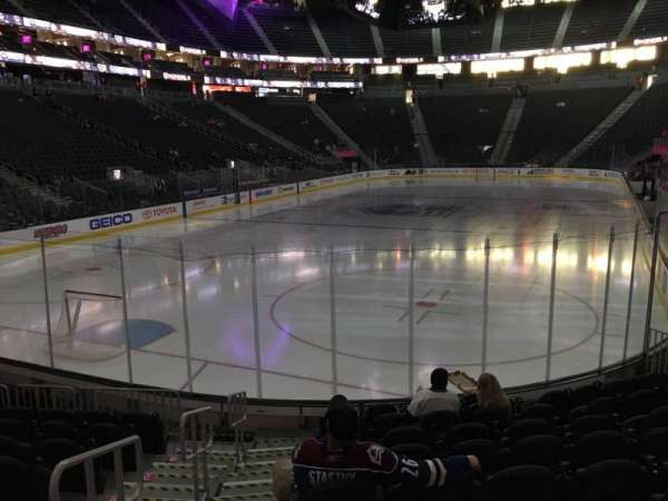 T-Mobile Arena, section: 2, row: J, seat: 1